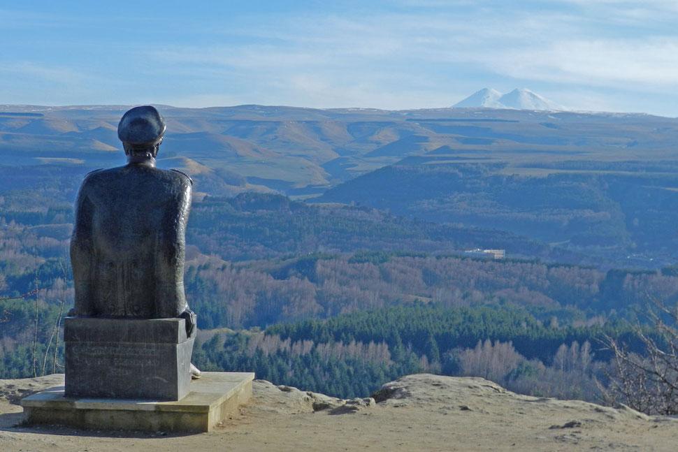 Lermontow Denkmal Kislowodsk Elbrus Памятник Лермонтова Кисловодск Эльбрус