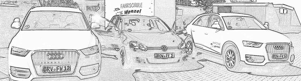 Fahrzeuge Fahrschule Wenzel