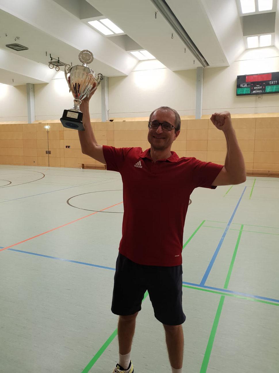 Neuer Vereinsmeister 2019 Marcus von Hoeßle