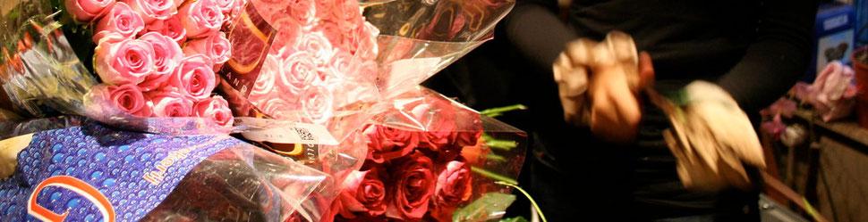 Schnittblumenpflege Rosen anschneiden