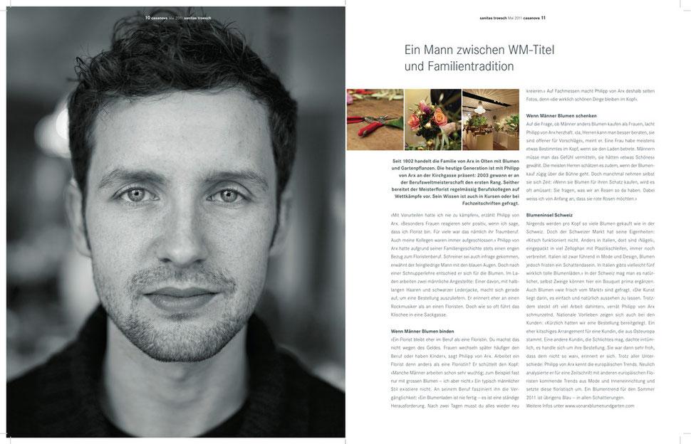 Kundenmagazin Sanitas Trösch 05|2011