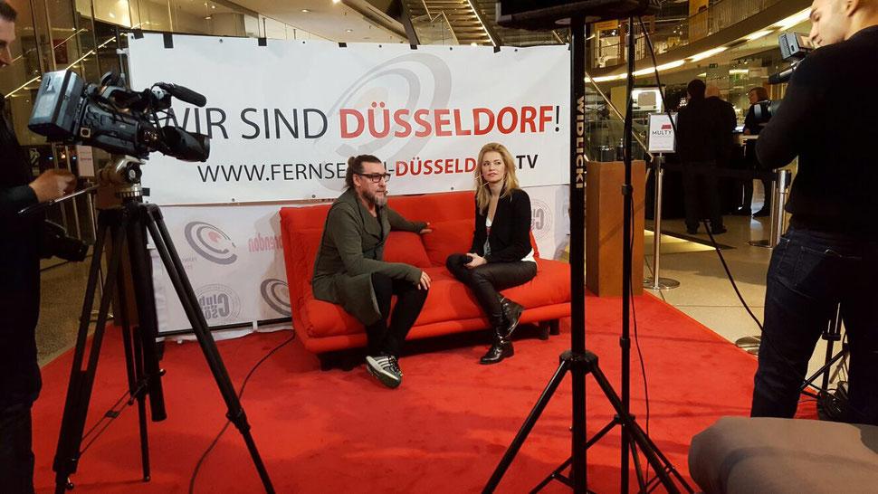 4. Kulturtalk mit Wolfgang Sohn im Sevens by Fernsehen Düsseldorf.TV