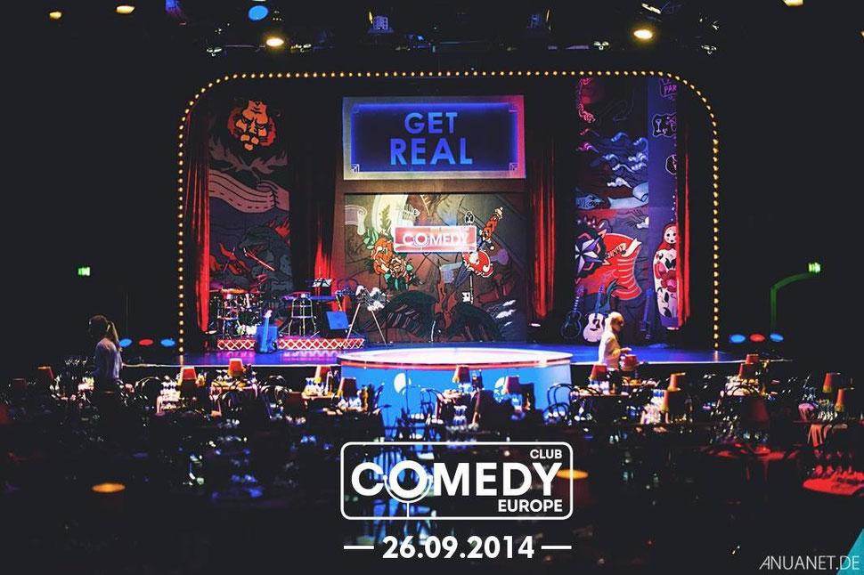 Bühnenbild 2014 für Comedy Club gemalt durch Elena Panknin