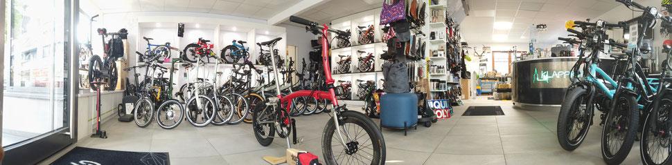 Fahrrad Ulm - Klapprad Ulm - TYRELL - AHOOGA - BROMPTON - TERN - VICTORIA - Reparatur Zweirad Werkstatt - BOSCH - BAFANG - SHIMANO - SERVICECENTER - ZEHEUS