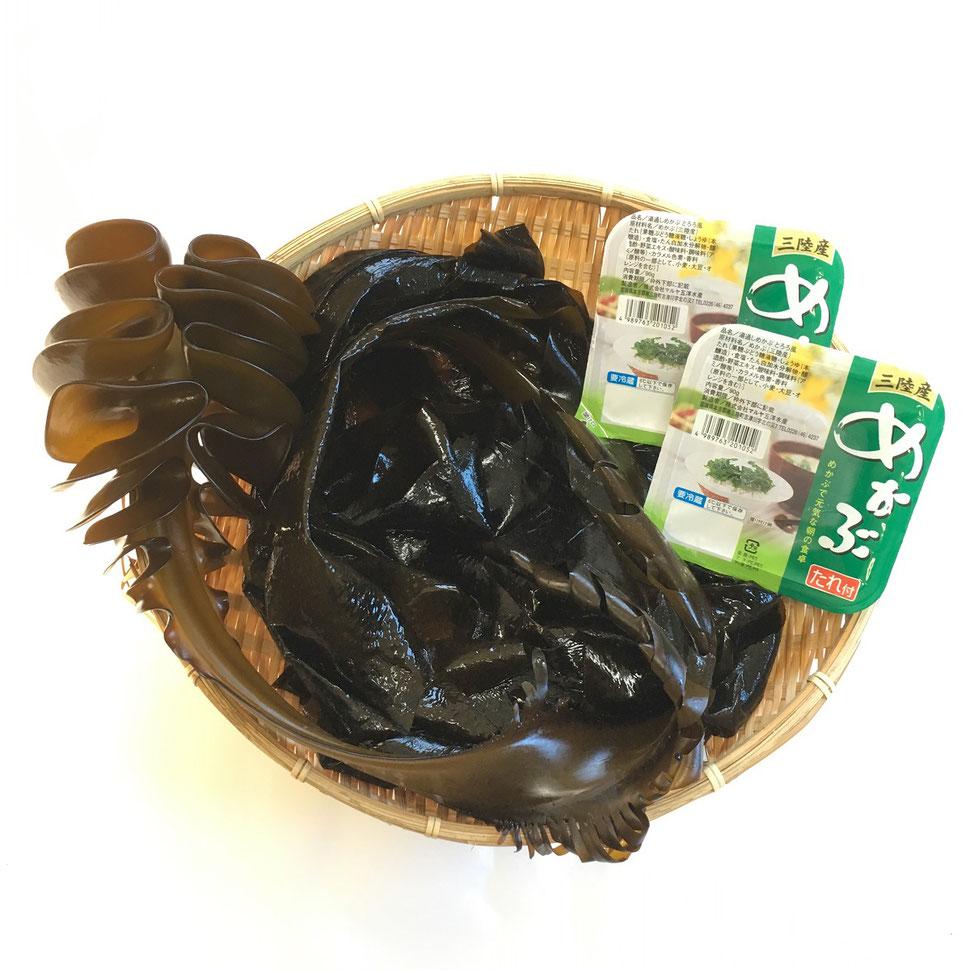 春季限定!たみこのしゃぶしゃぶ生わかめパック(しゃぶしゃぶで3〜4人前入り)¥2,480