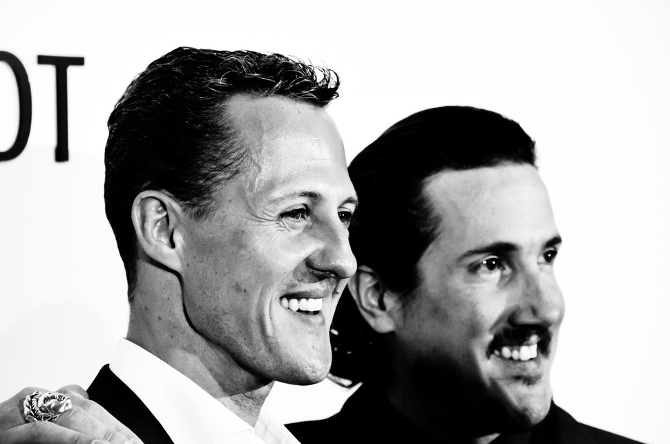 Navyboot Lounge Party, Michael Schumacher und Adrian J. Margelist