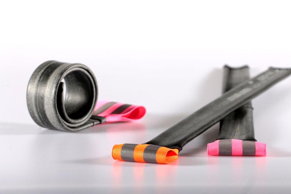 Klacky (Hosenklammer oder um den Arm getragen, reflektierendes Material)