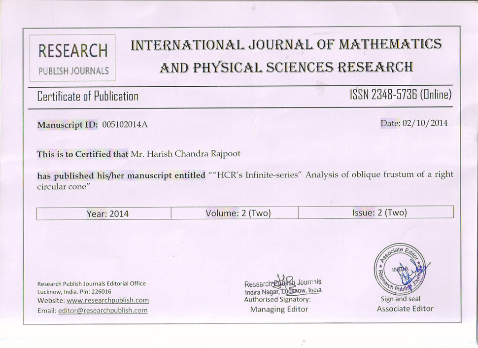 Dm harish research paper