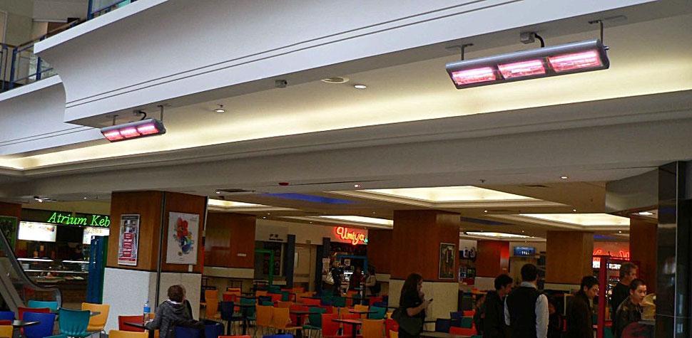 Heizung Einkaufscenter