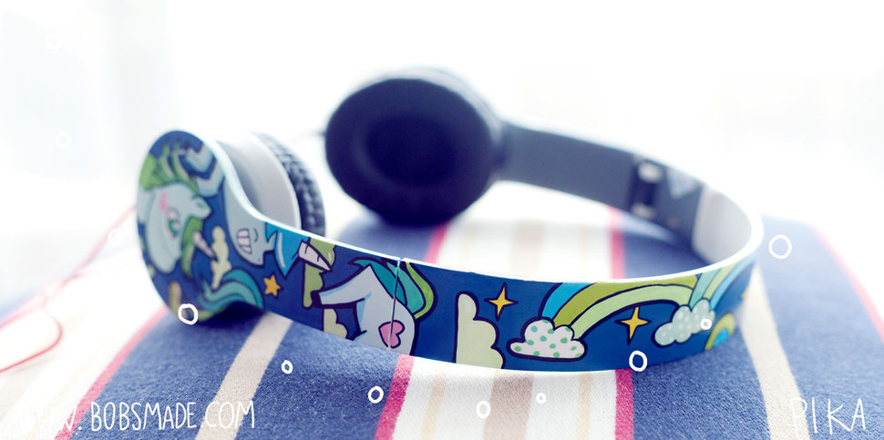 Unicorn Headphones Bobsmade