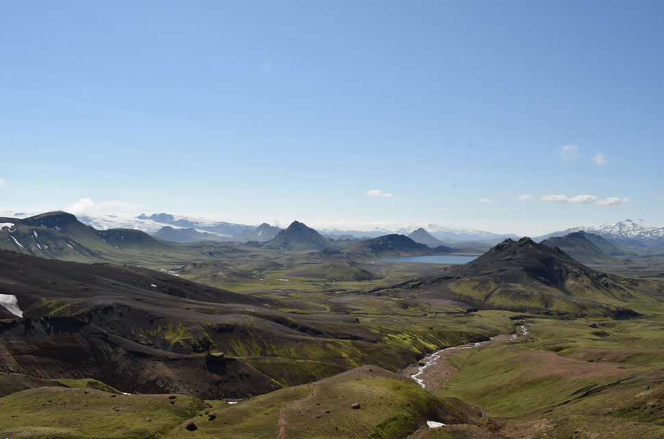 Álftavatn Laugavegur hiking trail