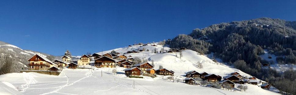 Village les Curtillets Beaufort Savoie