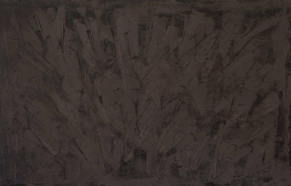 Scaglie.Acrilico su legno.140x90.2014 collezione privata