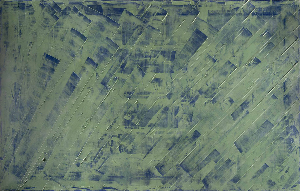 Futuro/Passato. acrilico su tela 140x90.2013  Collezione privata