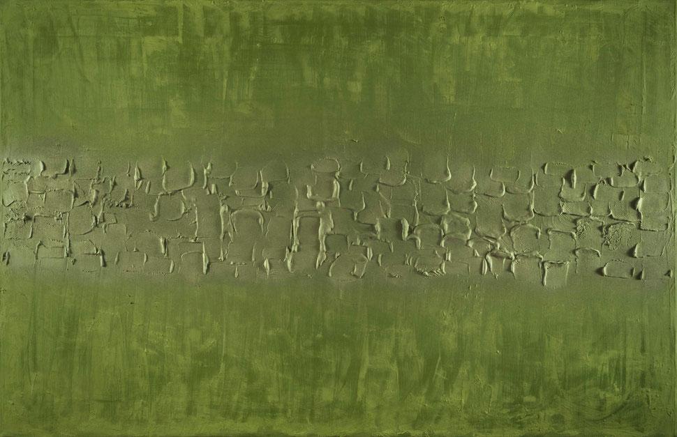 Promenade dans le sous-bois.Acrilico su tela.140x90.2013  Collezione privata