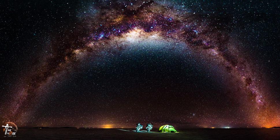 5 Sterne für Touristen, 1 Million Sterne für Motorrad-Reisende
