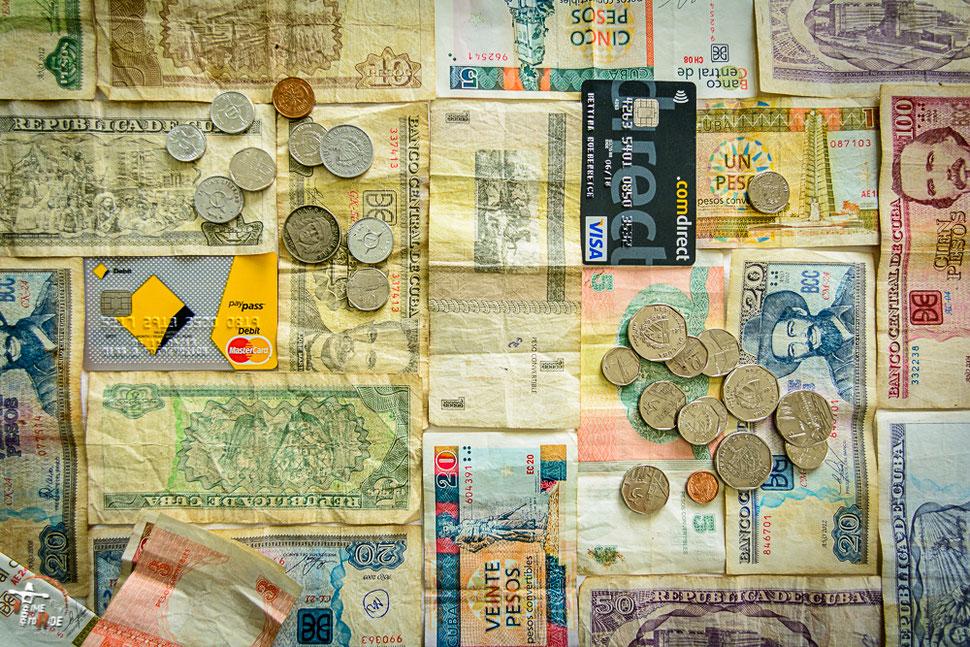 Geld auf Reisen. Mit welchem Budget muss ich rechenen?