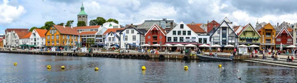Hafenpromenade von Stavanger