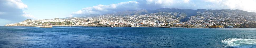 Skyline von Madeira