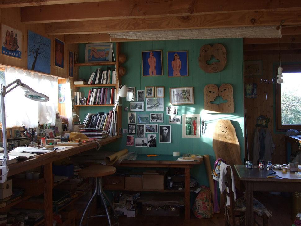 Mon atelier.