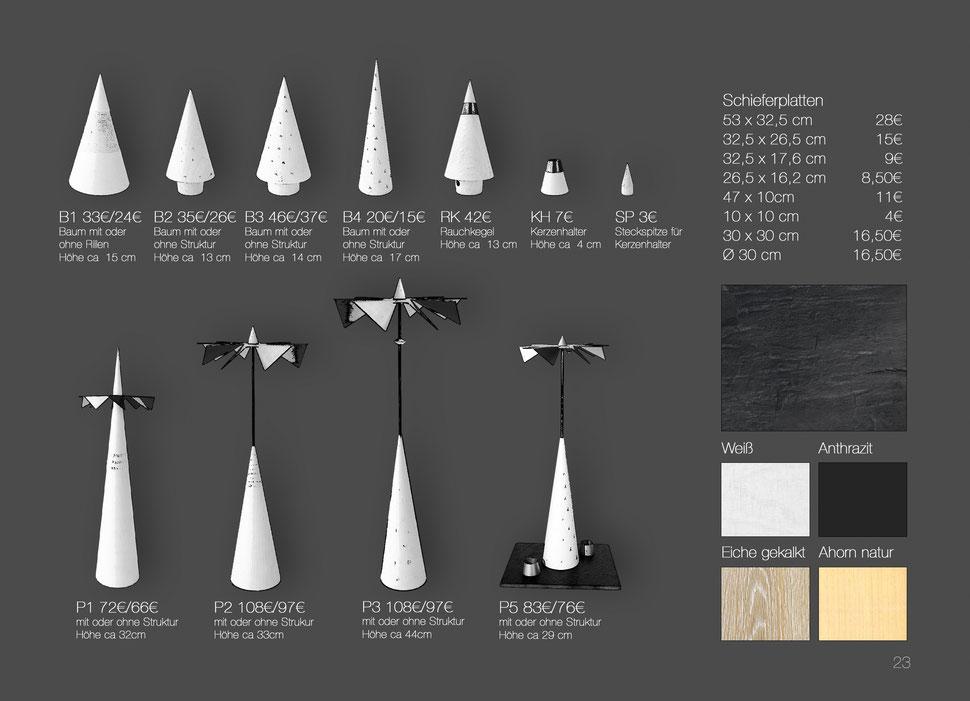 Minimal Art Lichtspiele moderne Pyramide Weihnachtspyramide Kegelpyramide Kegel Licht Spiele zeitgemäß puristisch handwerk moderne Pyramide Räuchermann individuelle Pyramide
