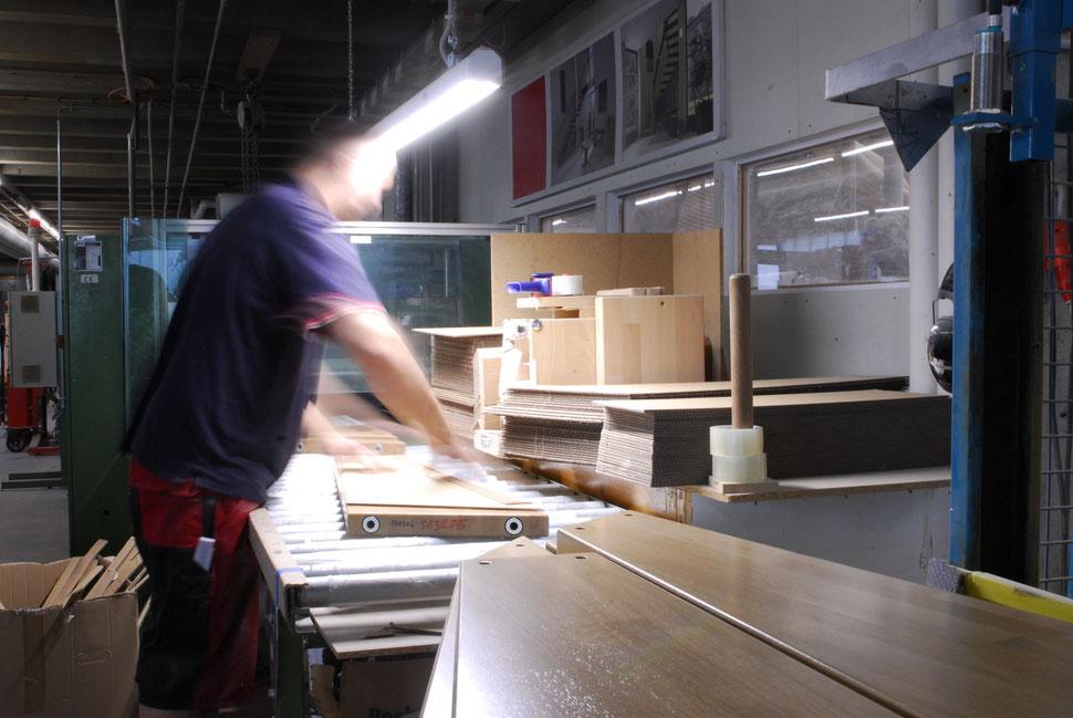 Bucher Treppen - moderne Treppenherstellung mit Präzision: CAD gestützt, CNC-Maschinen und Europas größte Lackierstraße für Treppen.
