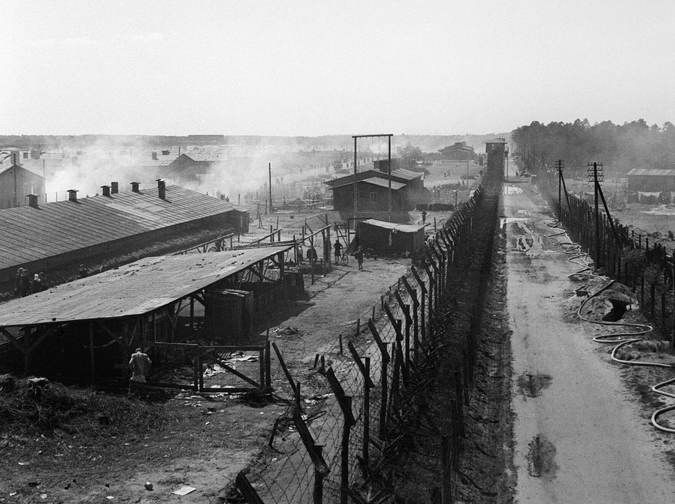 The Liberation of Bergen-belsen Concentration Camp, April 1945 BU4711 - This image was created and released by the Imperial War Museum on the IWM Non Commercial Licence.
