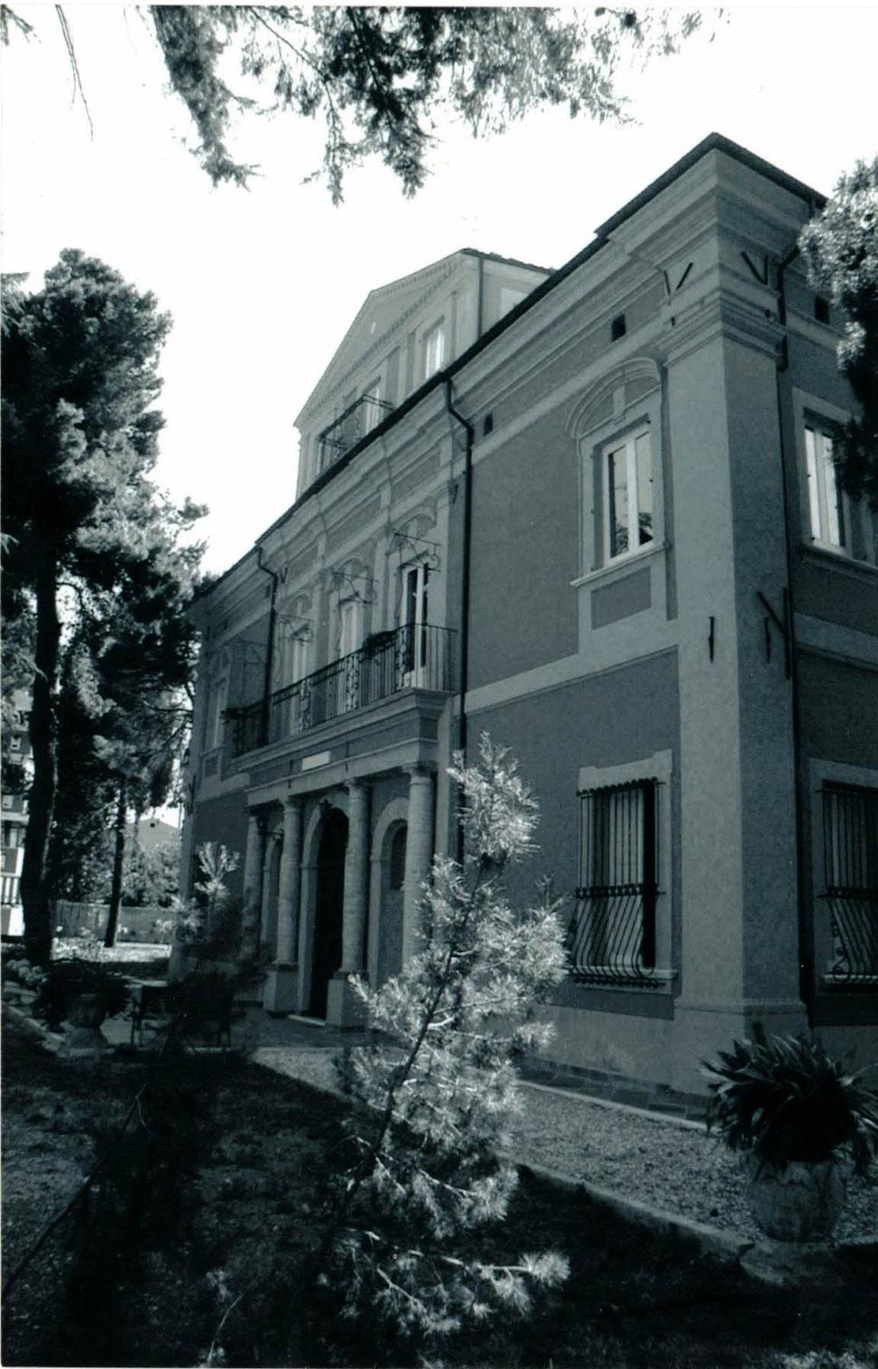 Villa Sorge, Lanciano (CH), sede del campo di concentramento fascista dal 1940 al 1943.