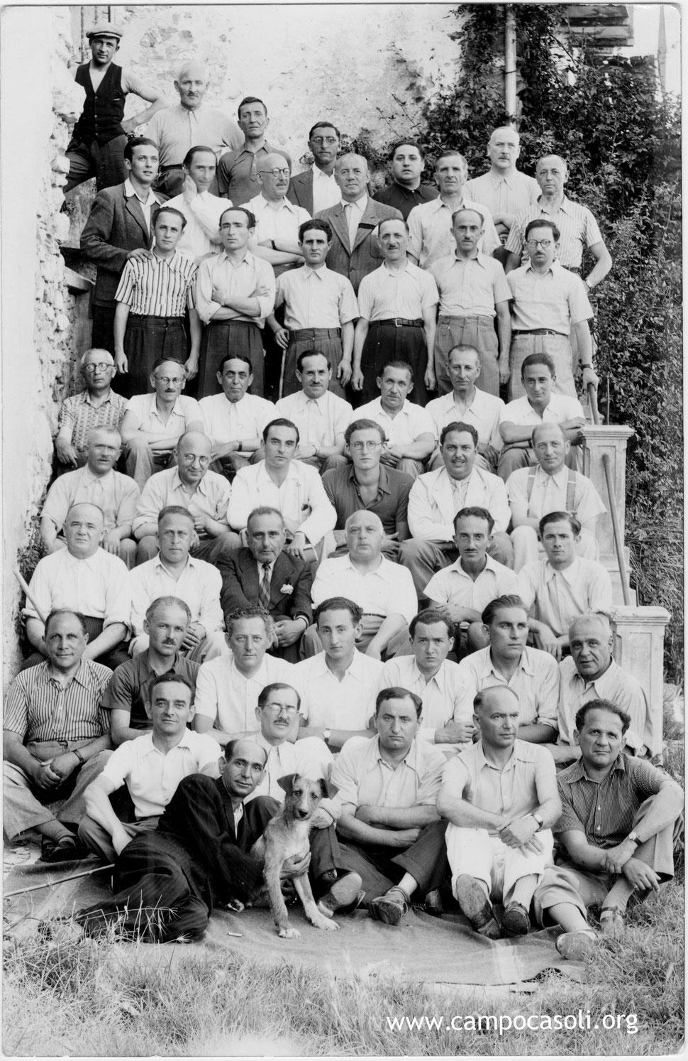 Internati ebrei stranieri nel Campo di concentramento di Casoli 1940-1944
