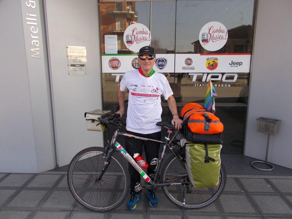 Giovanni Bloisi - Ciclista della Memoria.