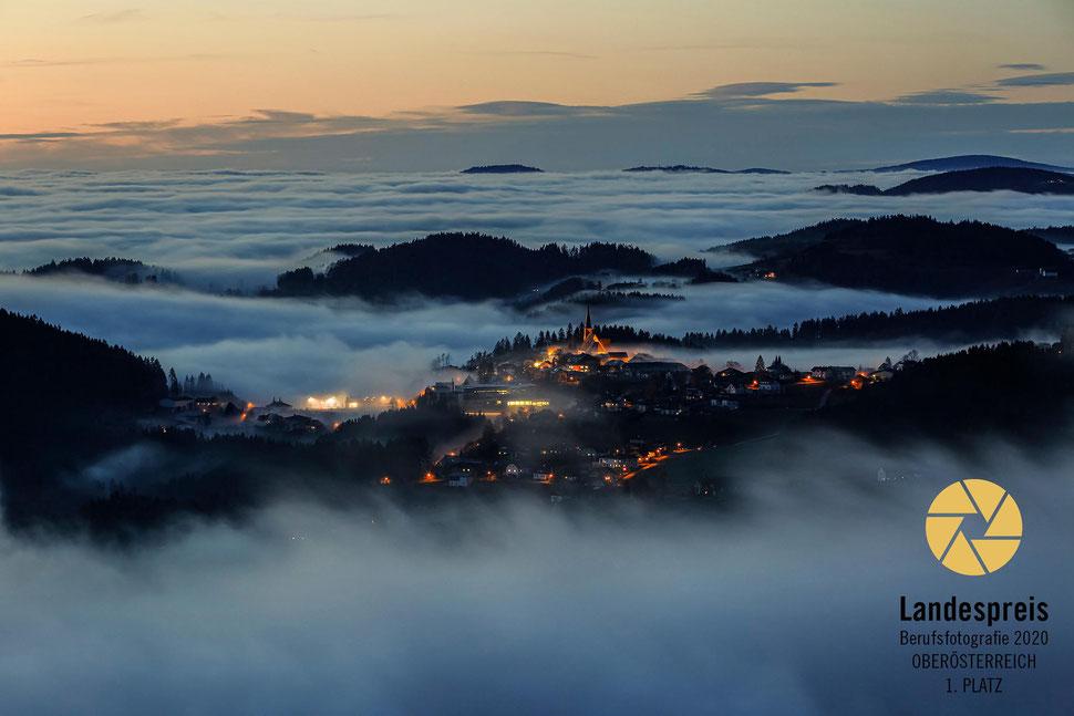 St. Georgen am Walde im Nebel, Landespreis 2020 1. Platz