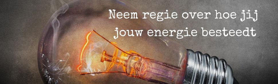 Neem regie over hoe jij jouw energie besteedt
