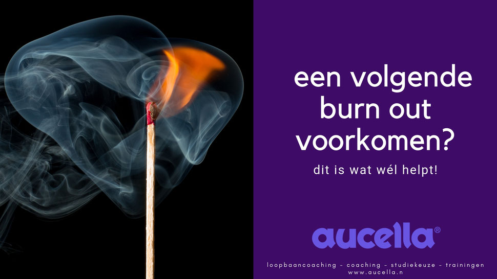 Burn out voorkomen