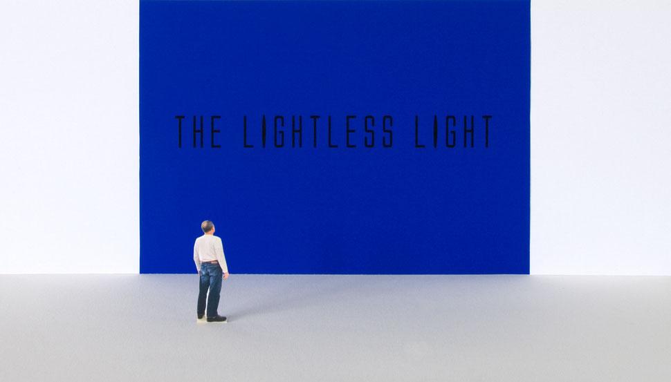 Susanne Koheil, The Lightless Light, Wandarbeit, Modell