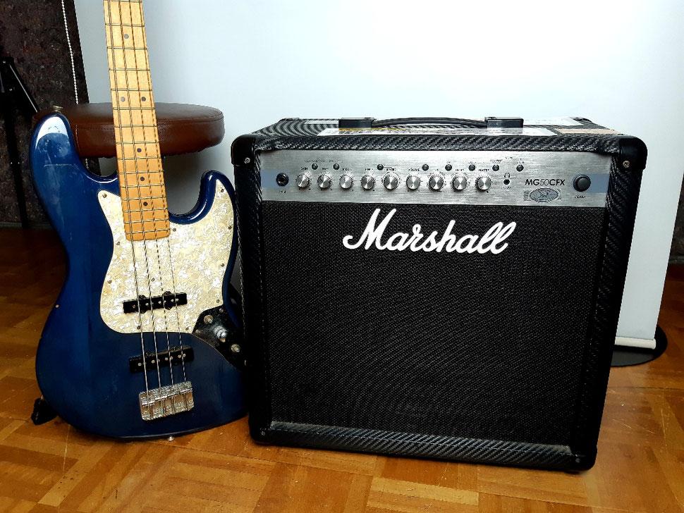 ギターアンプ Marshall MG50CFX