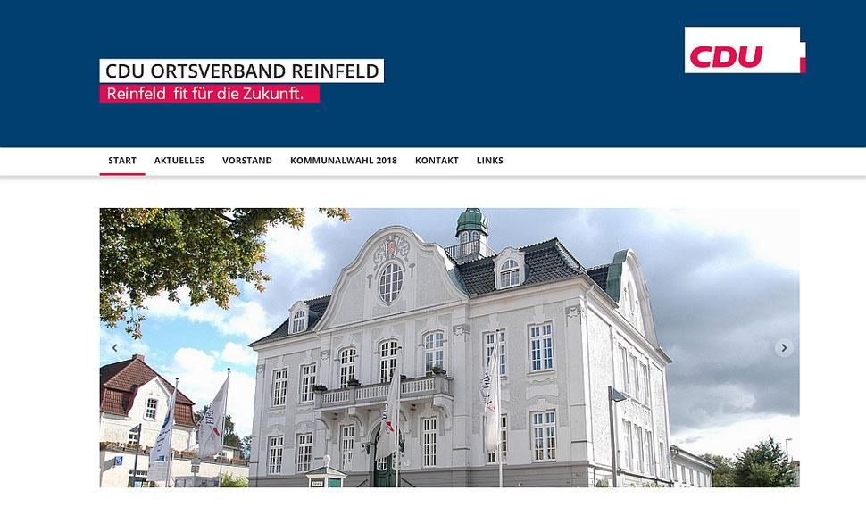 hansaconcept | Webdesign aus Lübeck für Ihren CDU-Wahlkampf, CDU-Ortsverband, CDU-Gemeindeverband, CDU-Kreisverband, CDU-Abgeordneten oder CDU-Kandidaten ind Schleswig-Holstein