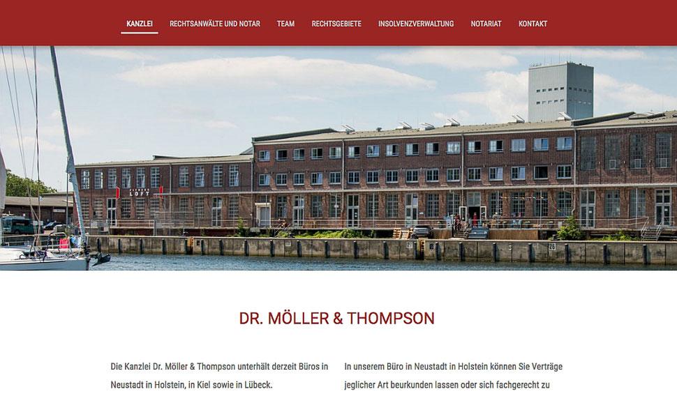 hansaconcept. Webdesign, Lübeck - Kanzleihomepage für Rechtsanwälte, Notare, Steuerberater, also für die Kanzlei, die Anwaltskanzlei zur Rechtsberatung, Mandantengewinnung, Mandanten