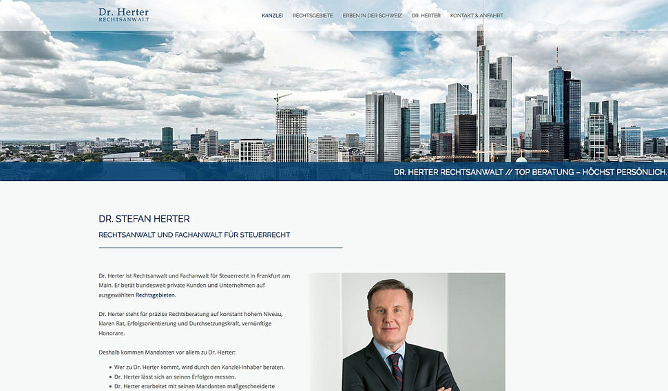 hansaconcept. Kanzlei-Homepage aus Lübeck - responsive Webdesign und Suchmaschinenoptimierung (SEO) für Rechtsanwälte, Notare, Steuerberater, für die Kanzlei, für die Anwaltskanzlei, für professionelles Kanzleimarketing