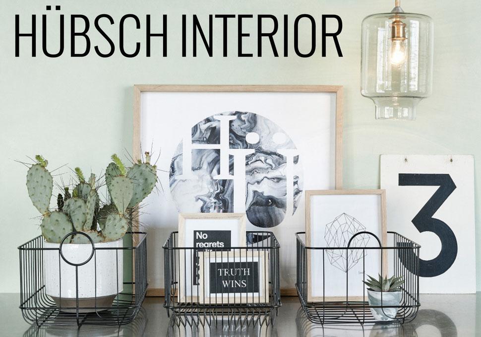 Hübsch, Hübsch Interior, Wohnaccessoires, Bilder, Accessoires, Leuchten