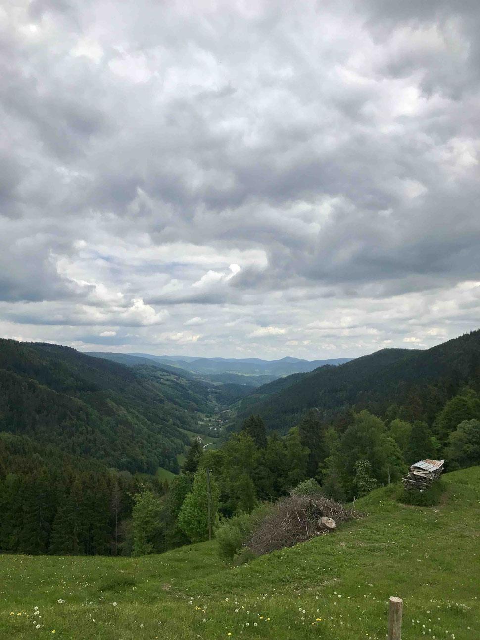 Vue depuis le col des Bagenelles ©Séverine de Close