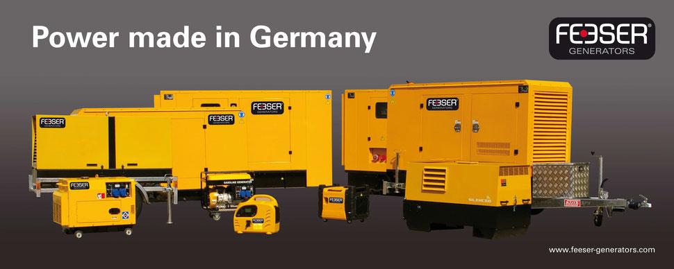 Feeser Generators - Ihr großer Notstromaggregat-Spezialist in der Region Freiburg Breisgau-Hochschwarzwald