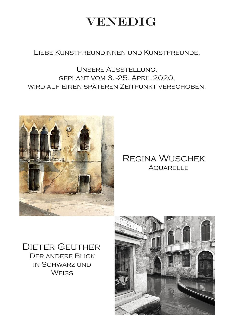 VENEDIG Ausstellung in Murnau