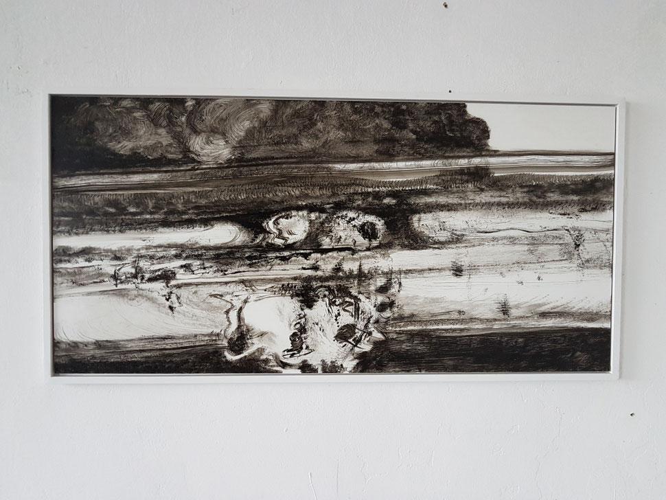 Mickelner Feld, 2017 100 x 45cm