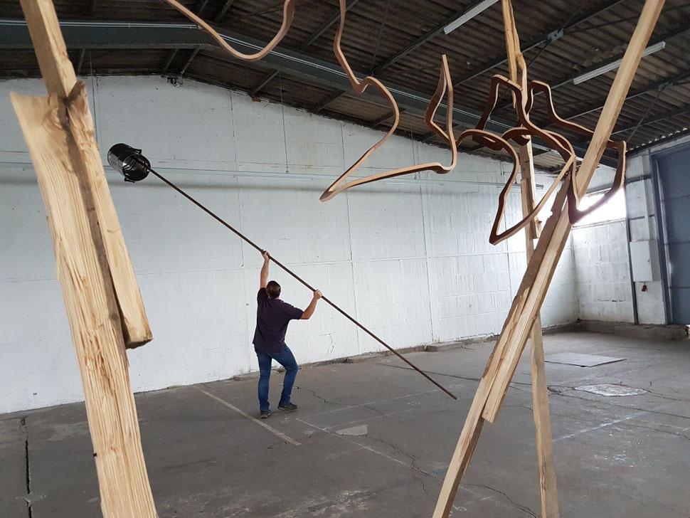 """Ausstellung """"paarweise"""" - Ausstellungshalle WERFT77 Düsseldorf 2017"""