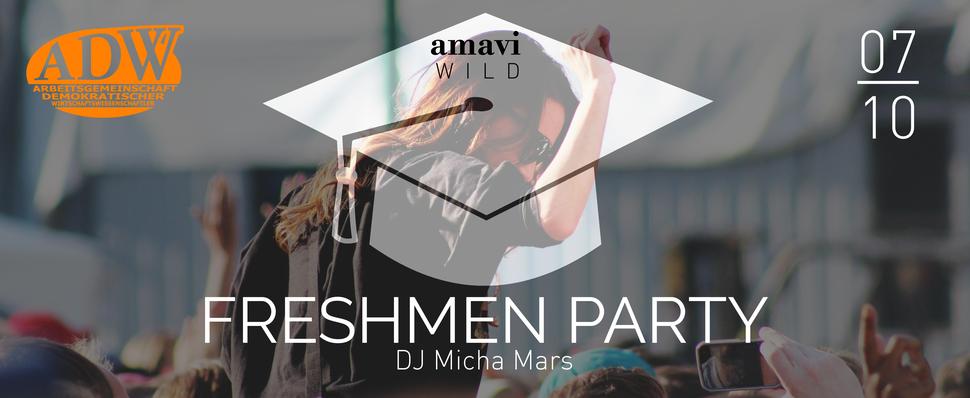 amavi Ersti Erstsemester Freshmen ADW Göttingen DJ Micha Mars Oktober Party