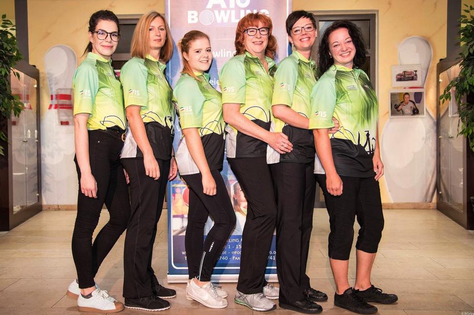 Foto: DBU     Von links: Laura Piros, Antje Materne, Nathalie Kempgens, Elke Gräwe, Miriam Otten, Andrea Gipper