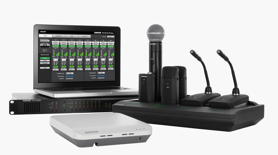 shure, micrófonos para conferencias, microflex