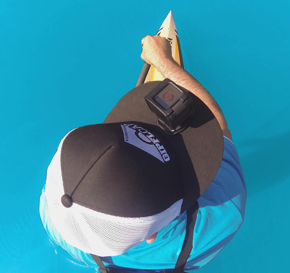 GIPFLcap TRUCKER MESH BLACK&WHITE