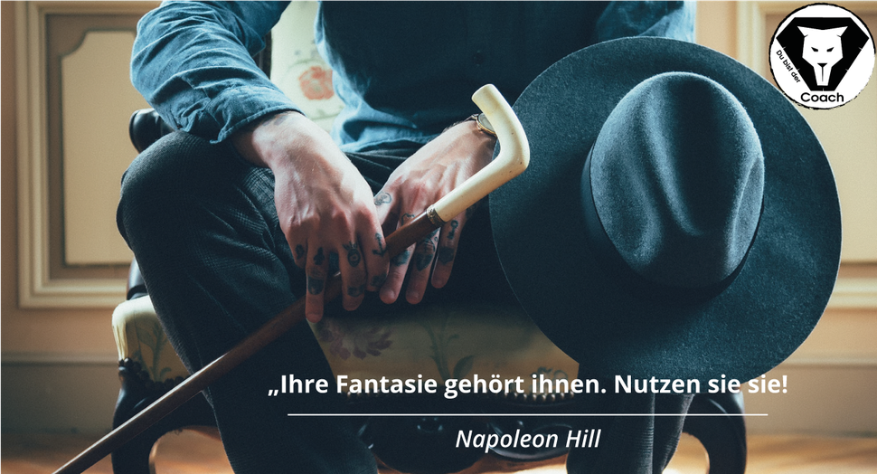 Personal Trainer Ben Menges Athletik Zitat Erfolg Gym Sport Fitness Napoleon Hill