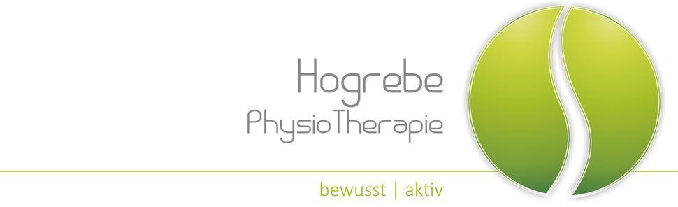 Logo der Phyisotherapie Beate Hogrebe in Northeim: bewusst | aktiv